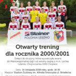 Otwarty trening dla rocznika 2000/2001