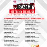 TERMINARZ V LIGI RED BOX – runda jesienna 2021